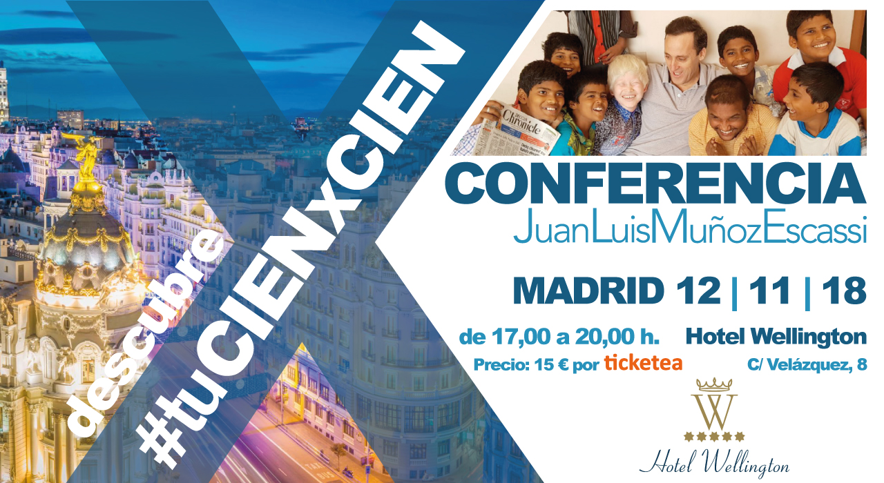 conferencia Madrid tu cien por cien